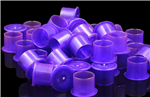 Purple Tattoo Ink Well Cups - Medium 20-Pak
