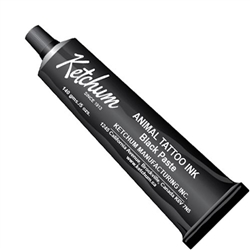 Ketchum Animal Tattoo Ink - Black Paste 5oz.