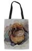 Watercolor Holland Lop Tote