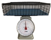 Winco 20-Pound Scale with Large Wire Basket Kit