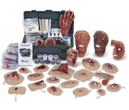 Deluxe Xtreme Trauma Moulage Kit