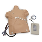 12-Lead Arrhythmia Simulator on Overlay System for Large Manikins, Zoll - 12-000L