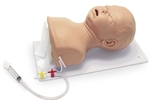 Deluxe Infant Airway Trainer | Advanced Infant Intubation Head with Board | Simulaids 130 Deluxe Infant Airway Trainer | Nasco SB42997U Advanced Infant Intubation Head with Board | Buy Advanced Infant Intubation Head On Sale |  Infant Airway Trainer