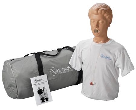 Adult Choking Manikin | Adult Choking Training Manikin | Adult Choking Manikin With Carry Bag