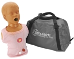Child Choking Manikin With Carry Bag - 1620