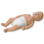 Simulaids Sani-Baby CPR Manikin 4-Pack with Carry Bag