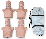Economy Adult Sani-Manikin with Bag, 4-pk - 2145