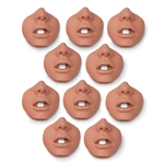 A.J. Channel Mouth/Nosepieces (10 pk.)