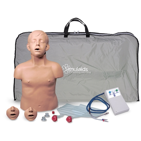 Brad Jr. CPR Manikin with Electronics and Carry Bag