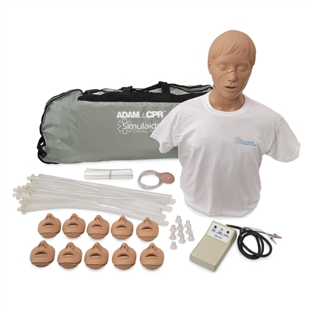 "Adam CPRâ""¢ Training Manikin with Electronics and Carry Bag, Light - 2300"