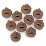 African-American Channel Mouth/Nosepieces (10 pk.) - 2601