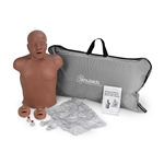 Paul African-American CPR Manikin with Carry Bag