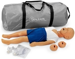 3-Year-Old Kyle CPR manikin with Carry Bag