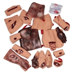 Moulage Kit | Trauma Moulage Kit | Simulaids Trauma Moulage Kit 6701 | Nasco Trauma Moulage Kit SB23528U | Buy Trauma Moulage Kit On Sale | Trauma Moulage Kits