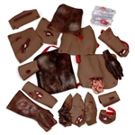 Trauma Moulage Kit (African-American)