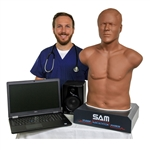 SAM The Student Auscultation Manikin | Cardionics SAM II - The Student Auscultation Manikin | 718-8800 | 718-8900 |  SAM The Student Auscultation Manikin