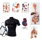 Wearable Auscultation Training Set Intro with SimShirt