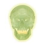 Neon Glow in the Dark Skull Model - A20-N