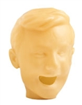 skin rubber face for pediatric simulation manikin