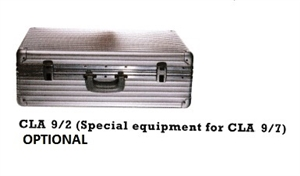 Aluminium Case - Special Equipment for CLA 9-7