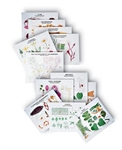 Complete Biology Chart Series w/ Tripod Stand - 35 Colored Charts - DG1990-41