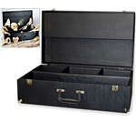 Compartmented Wood Case For Disarticulated Skeleton