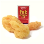 Fat Chunk Set (1 lb & 5 lb)