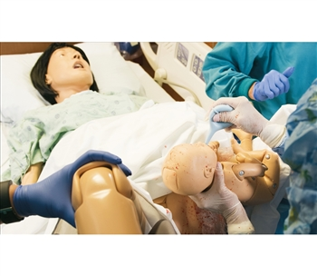 Life/form® Complete Lucy Maternal and Neonatal Birthing Simulator - LF00041U