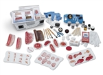 life/form advanced nursing wound simulation kit