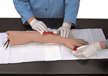 Life/form® First Aid Training Arm with Severe Bleeding