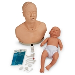 Tracheostomy Care  Simulators | Tracheostomy Care Manikins | Tracheostomy Care Set | Patient Tracheostomy Care Set | Patient Education Tracheostomy Care Set | Life/form® Patient Education Tracheostomy Care Set | Surgical Airway Simulation Manikins