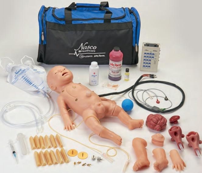 f9fa60fd909 Life/form® C.H.A.R.L.I.E. Neonatal Resuscitation Simulator with Interactive ECG  Simulator