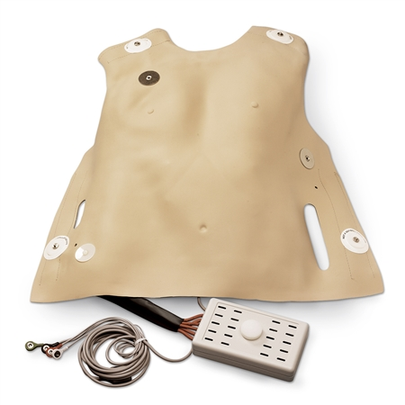 Life/form® Adult Defibrillation Chest Skin - LF03652U