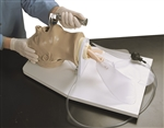"""Airway Larry"" Adult Airway Management Trainer with Stand - LF03699U"