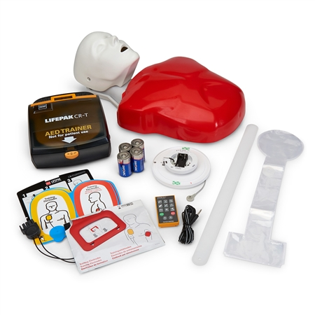 Basic Buddy® Plus with AED Trainer with Heartisense®