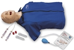 Airway Management Torso with AED Features | Advanced Airway Management Torso with AED Features | Advanced Airway Larry Torso with Defibrillation Features | Buy Life/form Advanced Airway Larry Torso with Defibrillation Features LF03960U On Sale