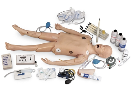 Life/form Deluxe Child CRiSis Manikin with Advanced Airway Management
