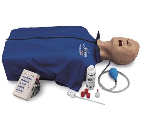 Life/form® Deluxe CRiSis™ Manikin Torso with Advanced Airway Management - LF03983U