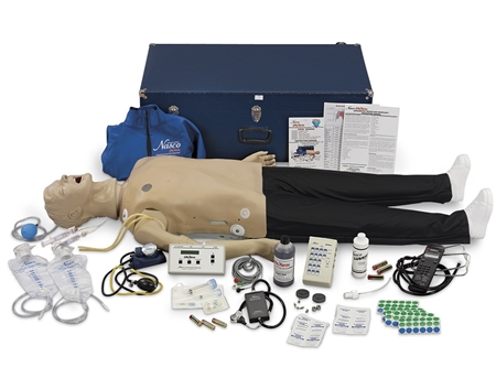 "Deluxe CRiSisâ""¢ Auscultation Manikin With Advanced Airway Management"