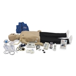 Deluxe CRiSis Manikin with Interactive ECG Simulator and Advanced Airway Management