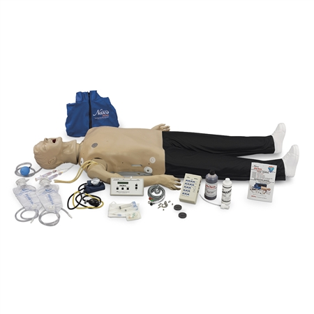 "Deluxe CRiSisâ""¢ with Interactive ECG Simulator and Advanced Airway - LF03987U"