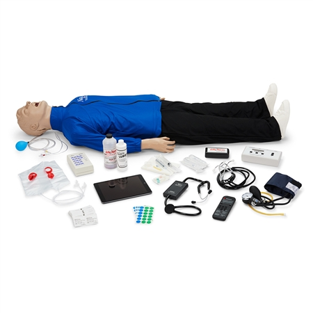 Deluxe Plus CRiSis™ Auscultation Manikin with CPR Metrix and iPad®* - LF03991U
