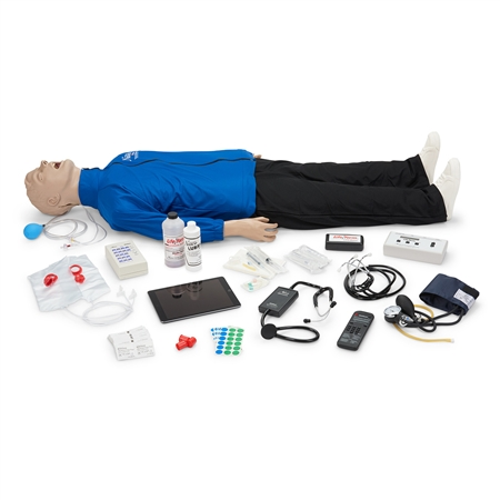 Life/form® Deluxe Plus CRiSis™ Auscultation Manikin with Advanced Airway Management, CPR Metrix and iPad®*