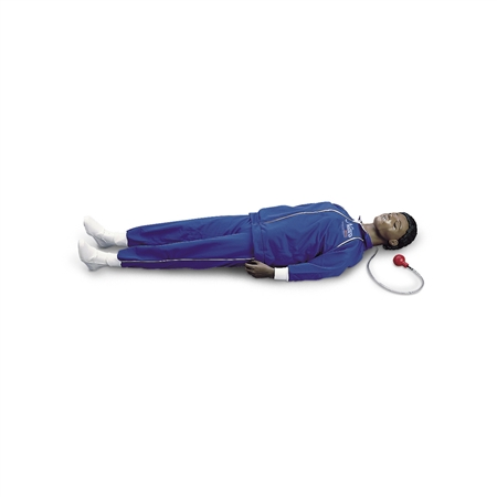 CPARLENE® Full-Size Manikin with CPR Metrix and iPad®* - Dark - LF03994