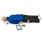 Life/form® Airway Larry with CPR Metrix and iPad®