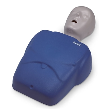 CPR Prompt® Training and Practice TMAN 1 Adult/Child Manikin, Blue - LF06001U