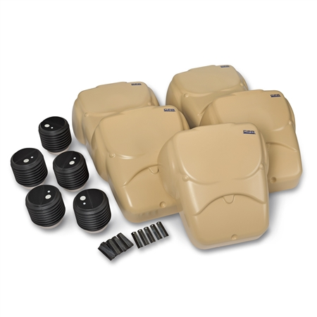 CPR Prompt Compression Only, Tan, 5-Pack