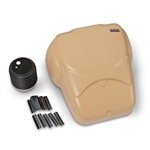 cpr prompt compression chest manikins 1 pk tan