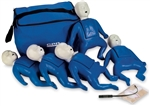 Nasco Life/form CPR Prompt Training and Practice Manikin - Infant 5-Pack - Blue