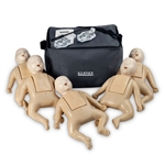 Nasco Life/form CPR Prompt Infant Training Pack - 5 Manikins -Tan